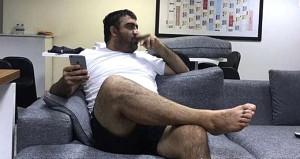 Kalp hastası Ümit Özat'ın fotoğrafı olay yarattı