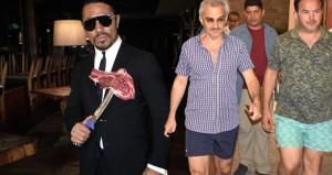 Suudi prens, akşam yemeği için Nusret'i ayağına getirtti