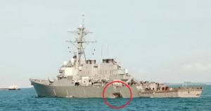 ABD savaş gemisiyle petrol tankeri çarpıştı: 10 asker kayıp, 5 yaralı