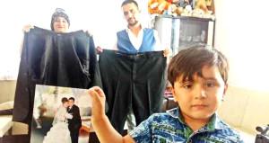 Hayata küsmüştü, oğlu için 143 kilo verdi