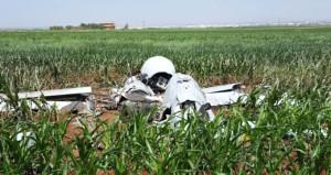 Urfa'da mısır tarlasına düşen İHA, ABD'nin çıktı