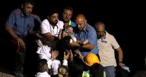 7 aylık bebek deprem enkazından sapasağlam çıktı