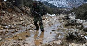 Amanoslar'da PKK ile sıcak temas! Teröristler kaçarken ormanı yaktı