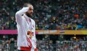 Dünya Şampiyonu Guliyev'den, şehit Eren Bülbül için anlamlı hareket
