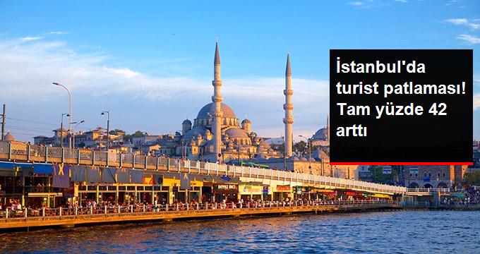 Temmuzda İstanbulu 1,3 Milyon Turist Ziyaret Etti