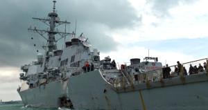 Pasifik Okyanusu'ndaki kazalar, filo komutanını işinden etti!