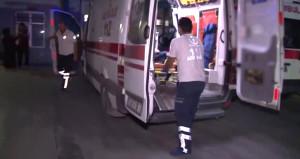 Motosikletten rastgele ateş açtılar: 2'si Suriyeli 4 yaralı!