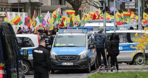 Almanya'daki PKK propagandasında komik