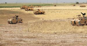 Irak sınırından sıcak görüntü! Tanklar hazır kıta bekliyor