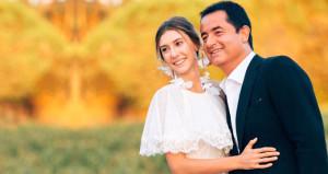 Yılın nikahına şahitler dışında tek bir isim katıldı