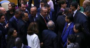 Büyük ilgi! Erdoğan, salona girer girmez bütün gözler ona döndü