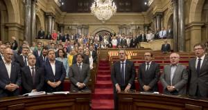 İspanya polisi, referandumu engellemek için hükümet binasını bastı