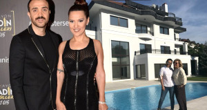 Kerimcan, Demet'in 18 milyonluk villasının içini kare kare çekti
