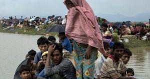 Myanmar hükümetini kınamayan ABD'den Arakan'a insani yardım!