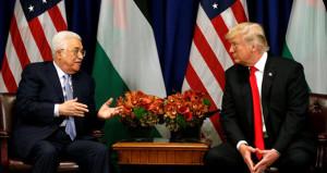 Trump, Filistin liderinin yüzüne söyledi: İsrail'le barışmanız çok zor