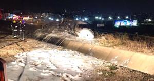 Facia ucuz atlatıldı! Atatürk Havalimanı'ndaki kazada 4 kişi yaralandı