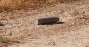 Suriye tarafından atılan top mermisi, Yayladağı'na düştü