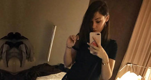 Beşiktaşlıların yengesi, kocasının çırılçıplak fotoğrafını paylaştı