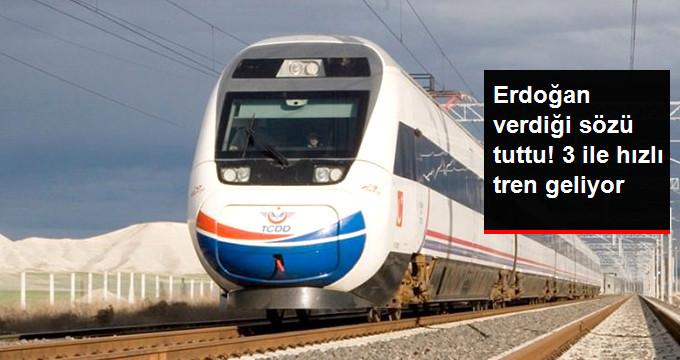 Malatya, Elazığ ve Diyarbakır Hızlı Trenle Birbirine Bağlanacak