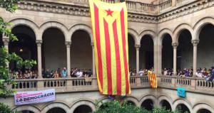 İspanya'da referandum gerginliği! Öğrenciler üniversiteyi işgal etti