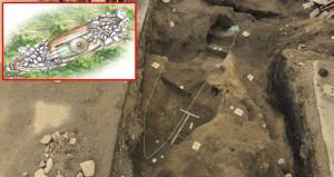 Norveçte Vikinglere ait 1000 yıllık kayık mezarlık bulundu