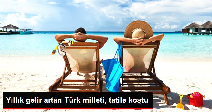 Türkiye'de Son 10 Yılda Tatile Çıkabilme İmkanı Arttı