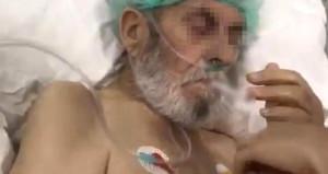 Yoğun bakımda sigara verilen yaşlı adamın öldüğü ortaya çıktı