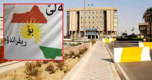 Erbil sokaklarında skandal harita! Türkiye'den bir kısmı da
