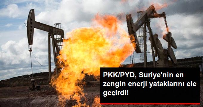 PKK/PYD, Suriyenin en zengin enerji yataklarını ele geçirdi!
