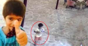 25 kez bıçaklanarak öldürülen çocuğun son görüntüleri yürekleri burktu