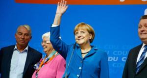 Almanya'da sandıklar kapandı, Merkel 4'üncü kez zaferini ilan etti