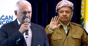 Başbakan'dan Barzani'ye son uyarı: Olacaklardan IKBY sorumludur