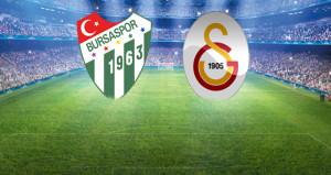 Bursa'da kritik maç! 11'ler belli oldu