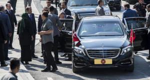 İBB için kritik toplantıya katılan Erdoğan'a sürpriz karşılama