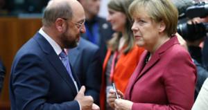 Türk düşmanlığı Merkel ve Shulzu fena çarptı: Yüzde 15 kayıp!
