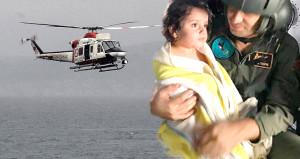 5 saat dalgalarla boğuştu! 4 yaşındaki Lia'nın, mucizevi kurtuluşu