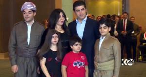Barzani'nin karısı, referandum oylamasına damga vurdu