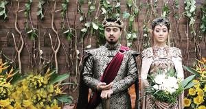 Böyle düğün görülmedi! Gelin elf, damat Game of Thrones kralı oldu