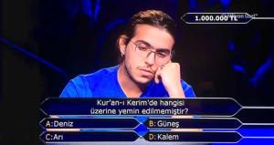 Fenomen yarışmadan 'milyonluk' final sorusu!