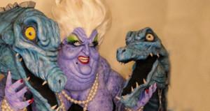 Makyaj artisti genç, korkunç çizgi film karakterlerine hayat verdi