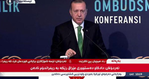 Referanduma giden Kuzey Irak, canlı yayında Erdoğan'ı izledi