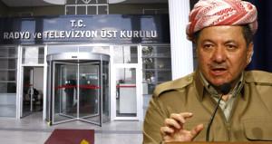 Türkiye'den bir Barzani hamlesi daha! RTÜK, Rudaw kararını verdi