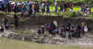 Bangladeş'e sığınan Arakanlı Müslümanların sayısı 436 bine dayandı