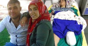 Kocasından işkence gören hamile kadın, yaşam mücadelesi veriyor