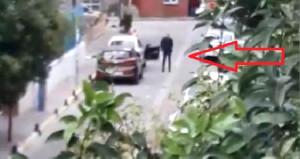 Tartıştığı genci otomobilin içinde vurdu! Dehşet anları kamerada