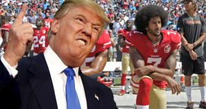 Trump, diz çöken futbolculara kafayı taktı: Yasaklayın!