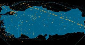Türk hava sahasında uçuş rekoru kırıldı