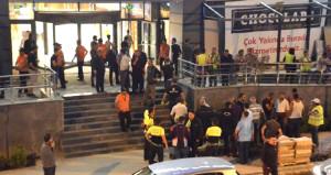 Yarın açılışı yapılacak olan AVM'de kavga: 30 çalışan birbirine girdi