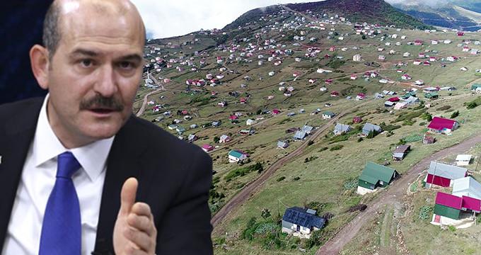 Yaylalardaki Kaçak Evler Yıkılıyor
