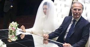 Mehmet Ali Şahin kendisinden 28 yaş küçük eski sekreteriyle evlendi